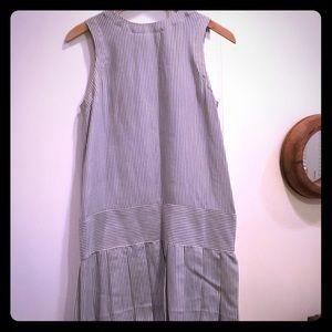 100 percent silk, button down back, sun dress
